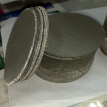 Malla de alambre de filtro de disco holandés de acero inoxidable