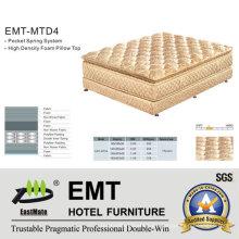 Colchón del dormitorio del hotel de la alta calidad (EMT-MTD4)