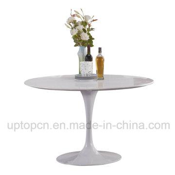 Оптовая чистый Белый Тюльпан стол для приемной (СП-GT418)