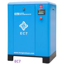 HONGWUHUAN EC7 mini compresor de aire de tornillo estacionario eléctrico