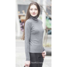 Women′s Knitting Cashmere Sweater (1500002017)