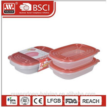 Neu! Kunststoff-Mikrowelle-Lebensmittel-Container (2ST) 0,95 L