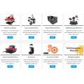 2017 Prime Suprimación multifunción Combo Heat Press 8 en 1 Máquina de impresión