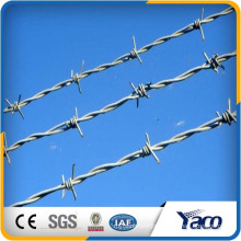 1.8 mm 2.3 mm 2.5 mm galvanized wire diameter barbed wire for jail