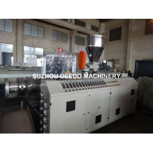 Conical Twin-Screw Plastic Extruder for PVC Pipe Extrusion Machine