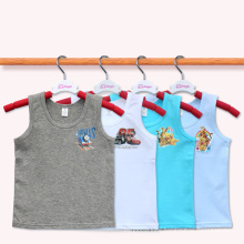 Children Tank Tops Boys Kids Summer Casual Vest Child Wear Sleeveless T Shirt