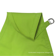 5x5x5m 160gsm waterproof polyester shade sail for swimming pool on best sale