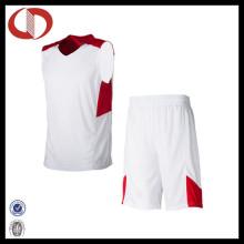 100% Polyester Dry Fit Custom Logo Basketball Uniform für Jungen