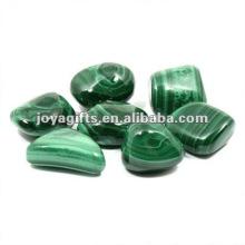Malaquita Pedra de seixos de pedras preciosas