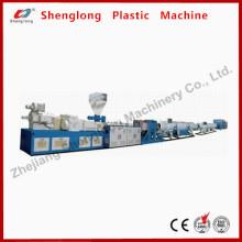 Machine à plastiques en plastique Extrusion Line Pipe