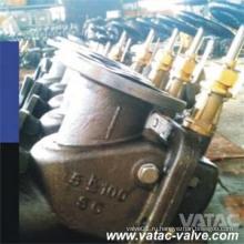 В JIS станд Литой стальной винт вниз Шторм Клапан (ГХ-МВ-РК F3060 5К)