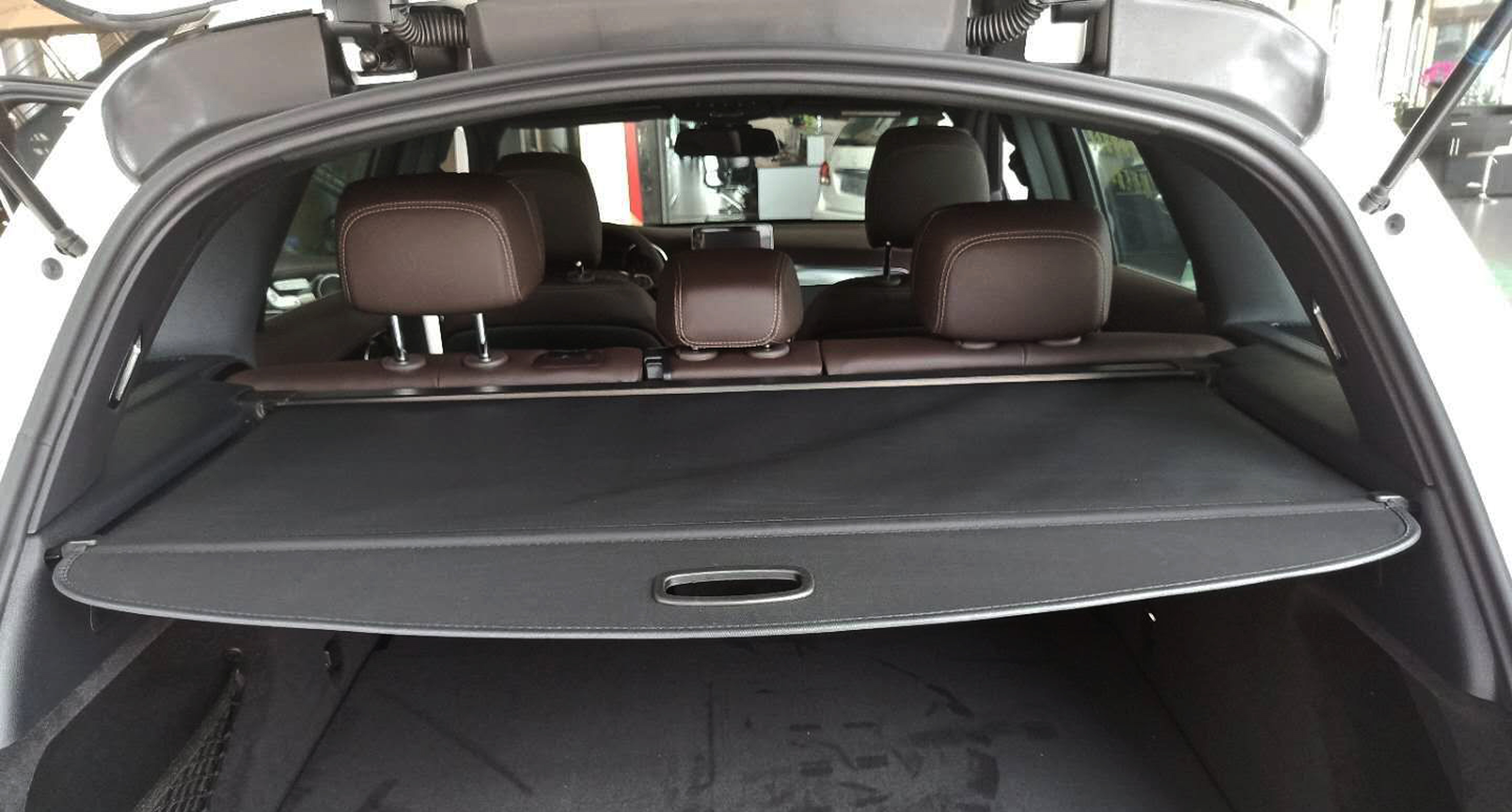 Rear Cargo Security Trunk Cover