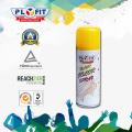 Lavar con facilidad el spray de brillo del color del pelo del partido