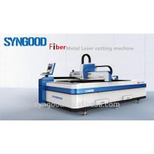 Máquina de corte del laser de la fibra espesor de 0.5-16m m Diseño abierto 1500 * 3000m m