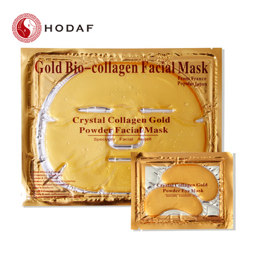 Skin care anti wrinkle collagen gold facial mask