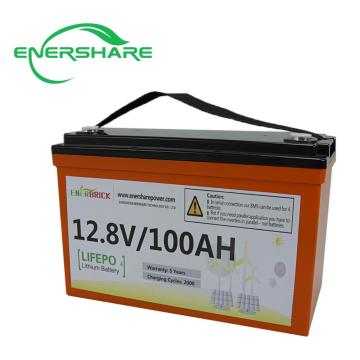 EnerBrick 12V 100ah Lithium Ion Battery
