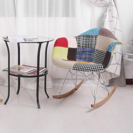 Eames Fabric Racking ArmChair
