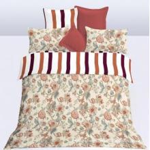 A folha de cama macia e confortável da cópia ajustou Dam2435
