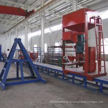 Máquina de enrolamento dos tanques de armazenamento da água dos tanques do tratamento de água FRP