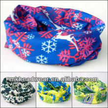 Multifunctional elastic hairband/magic band with different printing