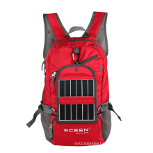 Solar Backpack for Hiking, Sized 20*18*8, OEM/ODM Designs Available