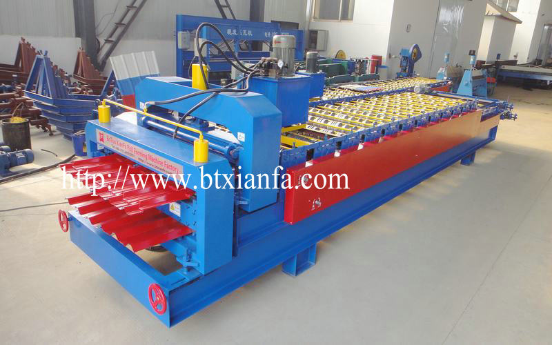 Tile Roof Making Machine (2)