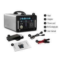 Portable Solar Generator 500Wh Backup Power