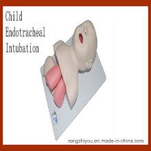 Modèle de formation à l'intubation endotrachéale des enfants (modèle médical éducatif)