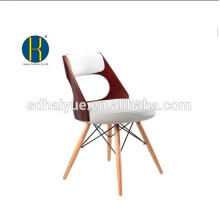 2017 High quality brown painting dinning room furniture with solid wooden legs