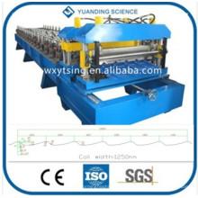 YTSING-YD-4392 Passou a máquina da folha do perfil da telha do CE, rolo da telha do metal que dá forma à máquina
