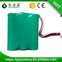 Recharge 3.6v NI-MH AA 1800mah battery