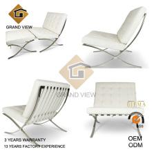 Cadeira de couro branco lazer (GV-BC02)