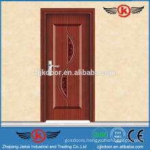 JK-SW9002 interior door frame forged iron wooden door wholesale