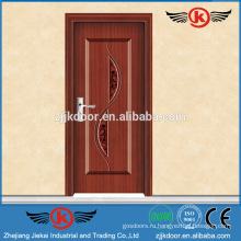 JK-SW9002 внутренняя дверная рама кованые железные деревянные двери оптом