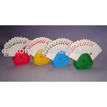 Portacarte Triangle Playing Card Grip
