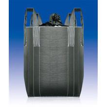 Carbon Black Fabric PP Plastic Big Bag