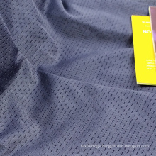 breathable polyester lycra quick dry basketball jersey mesh fabric for sportswear