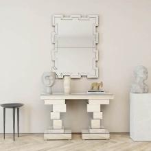 Mesa de console espelhada para móveis de hotelaria