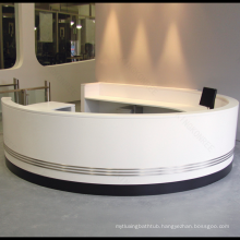 Eco-friendly hospital clinic front desk reception counter for hotel