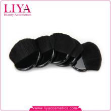 Kostenlose Probe schwarze Ziege natürlichen Make-up Halbmond Haarbürste mit eigenen logo