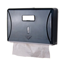 Dispensador de papel facial plástico montado en la pared al por mayor de lujo decorativa negra blanca de papel seda