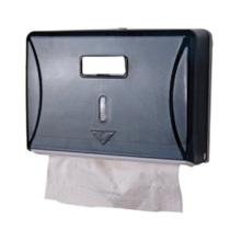 White Black Decorative Fancy Public Wholesale Wall Mounted Plastic Facial Tissue Paper Dispenser