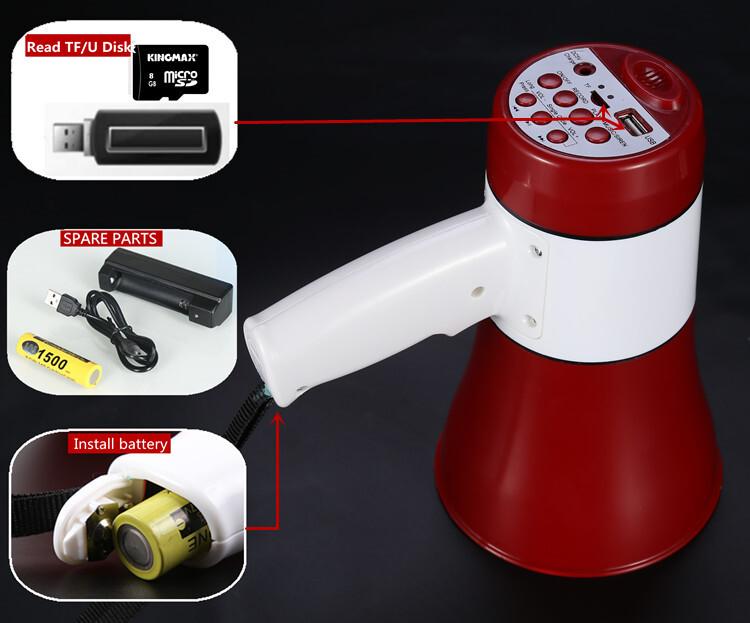 Handy Portable Megaphone