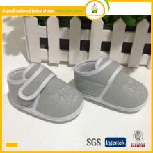 Bestes verkaufendes Baumwoll-preiswertes Baby-Nickel-Tuch beiläufiges Baby scherzt Schuhe