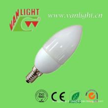 Bougie forme CFL 5W (VLC-CDL-5W), lampe économiseuse d'énergie
