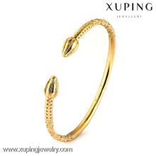 51079 brazalete de oro de dubai, bisutería de color oro de 24 k