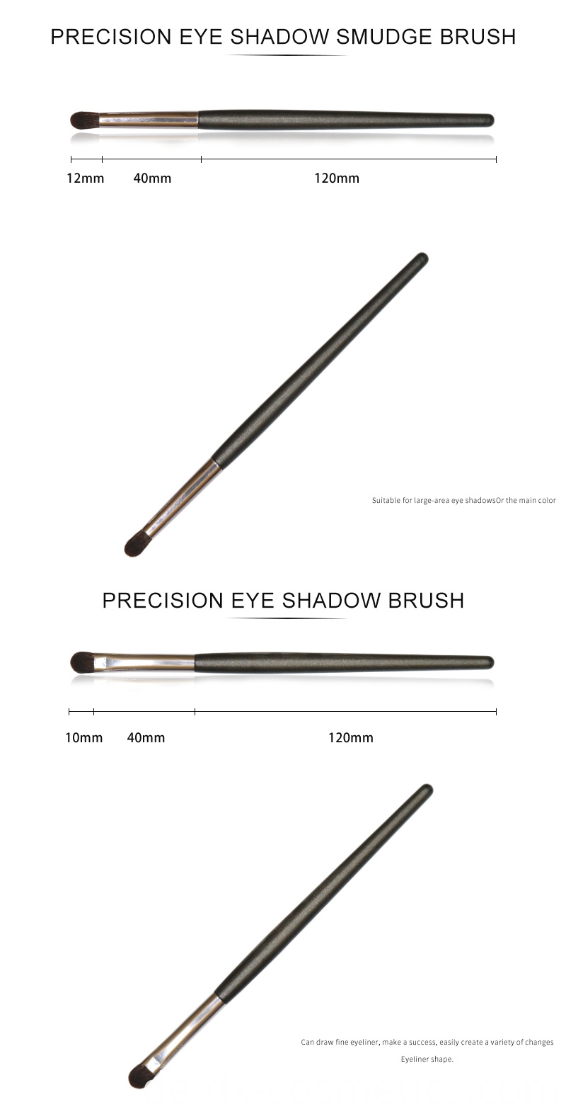 6 PCS Eyeshadow Brushes Set 4