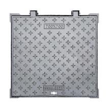 duktile Schachtabdeckung Größe 700x700 B125