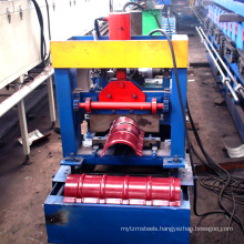 PPGI roofing cold sheeting radge cap roll forming machine