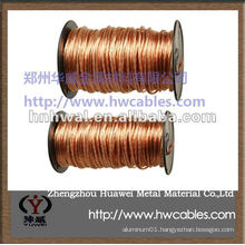 annealed copper conductor for lightning protection